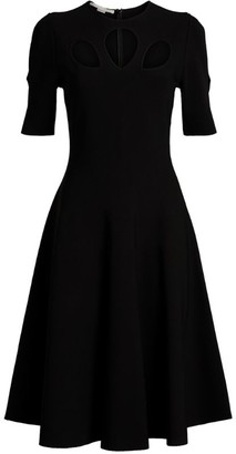 Stella McCartney Cut-Out Midi Dress