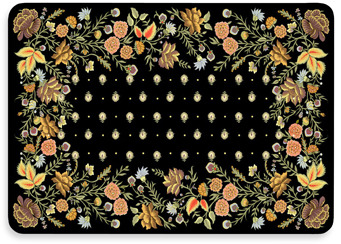 Bed Bath & Beyond New Wave Palazzo Onyx Floor Mat