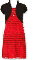 Speechless Short Sleeve Party Dress Plus - Big Kid