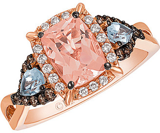 LeVian Le Vian 14K Rose Gold 1.73 Ct. Tw. Diamond & Gemstone Ring