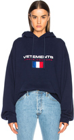 Vetements Stoner Hoodie in Blue.