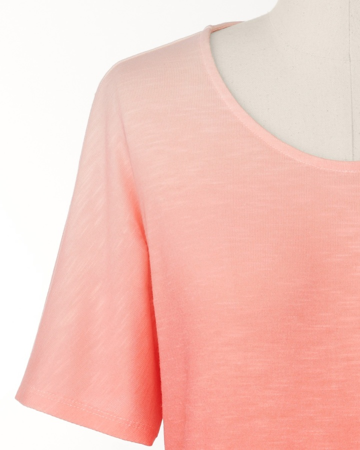 Coldwater Creek Ombré radiance top