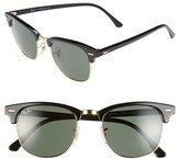 Ray-Ban Women's Standard Clubmaster 51Mm Sunglasses - Black