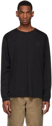 Acne Studios Black Patch Long Sleeve T-Shirt