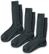 Charles Tyrwhitt Grey Ribbed Cotton 3 Pack Socks Size Large