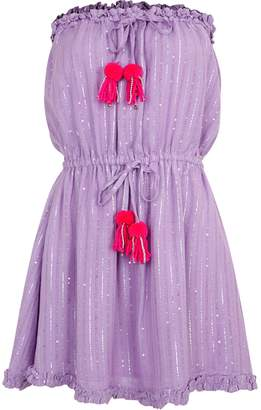 SUNDRESS Anoushka Roma Lavender Fuschia Dress - XS/S