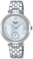 Pulsar Women's PN4045 Palladium-Plated Mother of Pearl Wrist Watch