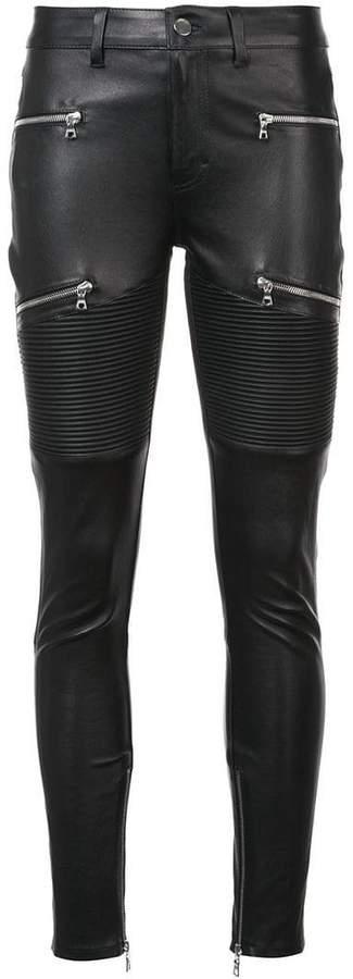 Amiri LX! skinny leather trousers