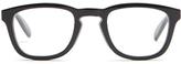 Alexander McQueen Square-frame acetate glasses