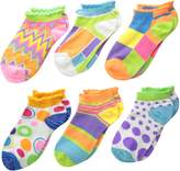 Jefferies Socks Little Girls' Mod Low Cut Socks (Pack of 6)