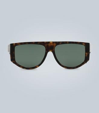 Givenchy Thick tortoiseshell sunglasses
