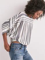 Lucky Brand Long Sleeve Stripe Dolman Top
