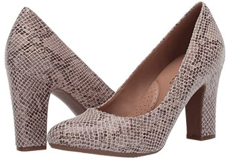Aerosoles Octagon (Tan Snake) Women's Shoes