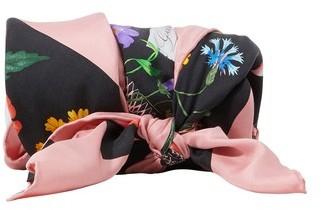 Gucci Flora silk scarf