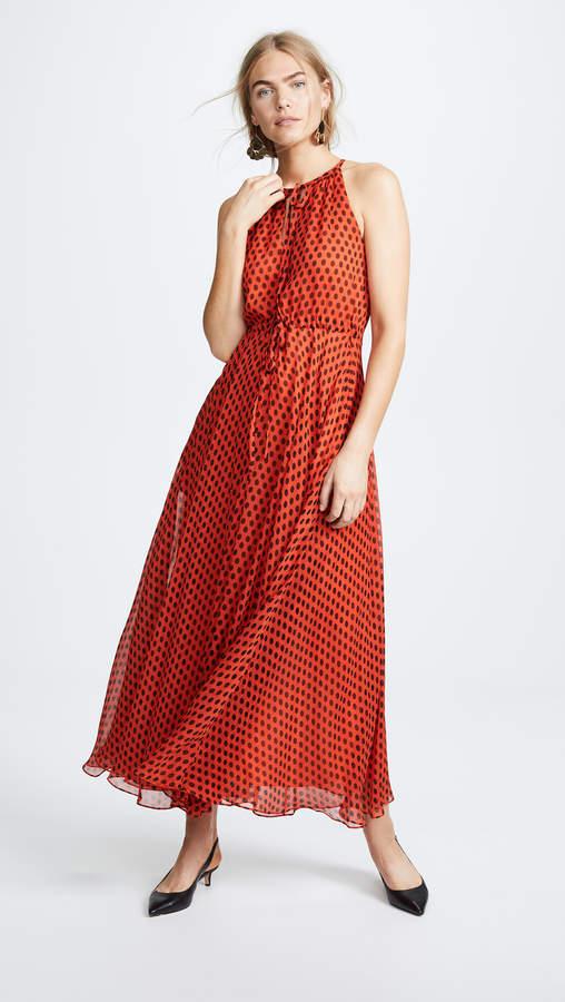 Diane von Furstenberg Keyhole Maxi Dress