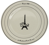 Eiffel Tower Breakfast Collection, Plate