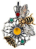 Bumble Bee Fritz Casuse Sterling/Brass Gemstone Bumblebee Enhancer