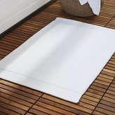 CB2 Surface White Bath Mat