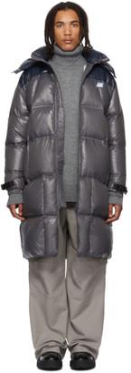 Ader Error Grey Down AE Puffer Coat