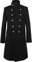 Balmain - Slim-fit Double-breasted Cashmere Overcoat