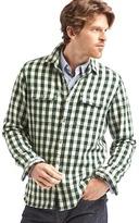 Gap Gingham flannel shirt