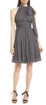 Milly Women's Lydia Dot Print Silk Fit & Flare Dress