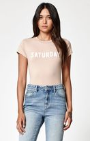 La Hearts Saturday Short Sleeve Skimmer T-Shirt