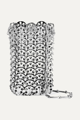 Paco Rabanne Mini 1969 Chainmail Shoulder Bag - Silver
