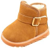 DaySeventh Winter Kids Child Cotton Boot Warm Snow Boots Shoes