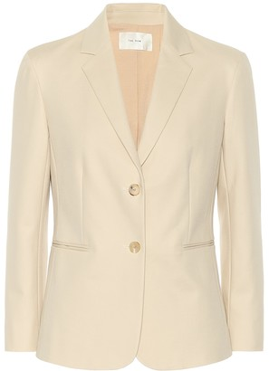 The Row Lobton cotton blazer