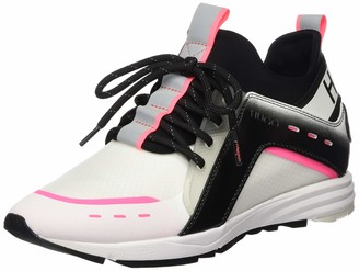 HUGO BOSS Women's Hybrid_Runn_Fd Hi-Top Trainers