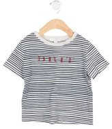 Burberry Boys' Striped Crew Neck Shirt