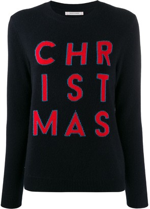 Parker Chinti & 'Christmas' knit jumper