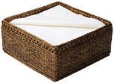 OKA Rattan Paper Napkin Basket
