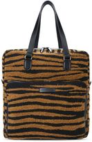 Stella McCartney tiger-print business tote bag