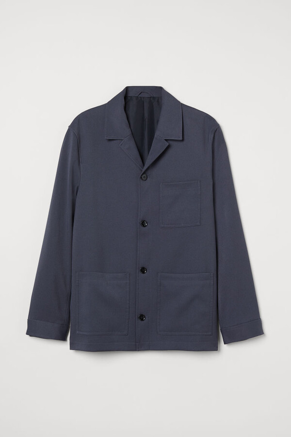 Thumbnail for your product : H&M Twill Shirt Jacket - Blue
