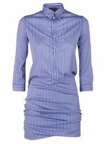 Balenciaga Striped Shirt Dress