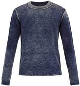 ATM Washed wool and cashmere-blend sweater