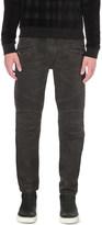 Balmain Biker slim-fit tapered jeans