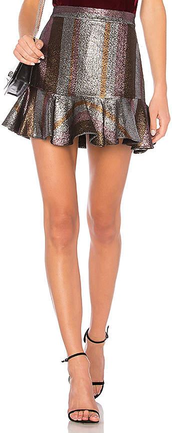 Derek Lam 10 Crosby Flounce Skirt