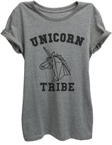 Thread Tank Unicorn Tribe Womens Relaxed T-Shirt Tee