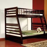 Wildon Home Dakota Twin over Full Bunk Bed