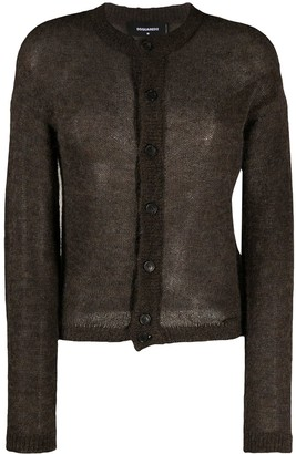 DSQUARED2 Fine Knit Cardigan