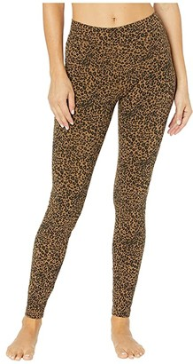 Hard Tail High-Rise Ankle Leggings (Hickory) Women's Casual Pants