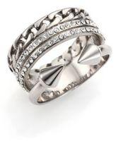 Vita Fede Grace Titan Crystal Chain Ring