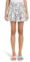 Mira Mikati Women's Monster Print Miniskirt