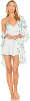 Flora Nikrooz Delilah Rayon Print Kimono