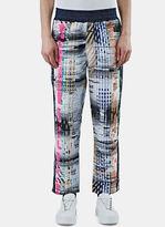 James Long Men's Multi-coloured Woven Sweatpants In Multicolour
