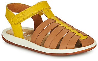 Camper BICHO girls's Sandals in Brown