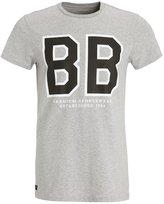 Björn Borg Liam Print Tshirt Light Grey Melange